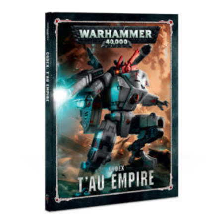 Games Workshop Warhammer 40,000 8th Edition Rulebook Xenos Codex: T'au Empire (HC)