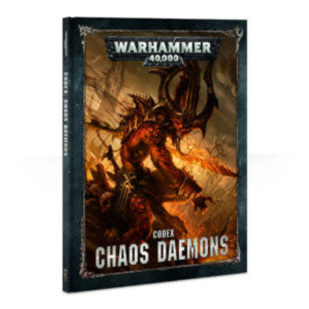 Games Workshop Warhammer 40,000 8th Edition Rulebook Chaos Codex: Chaos Daemons (HC)