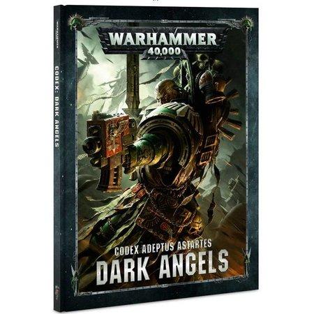 Games Workshop Warhammer 40,000 8th Edition Rulebook Imperium Codex: Adeptus Astartes Dark Angels (HC)