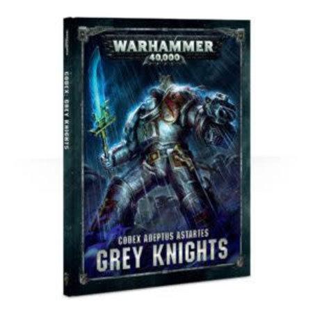 Games Workshop Warhammer 40,000 8th Edition Rulebook Imperium Codex: Adeptus Astartes Grey  Knights (HC)