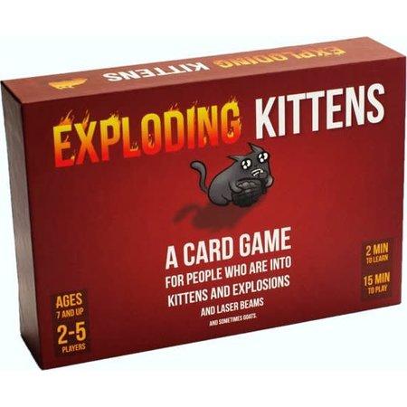 Exploding Kittens Exploding Kittens: Card Game (Eng)