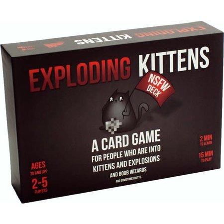 Exploding Kittens Exploding Kittens: NSFW Deck (Eng)