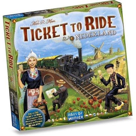 Days of Wonder Ticket to Ride - Nederland (Map Collection 4)