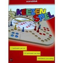 Keezbord scoreblok