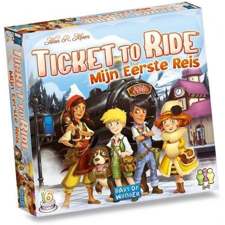 Days of Wonder Ticket to Ride: Mijn Eerste Reis