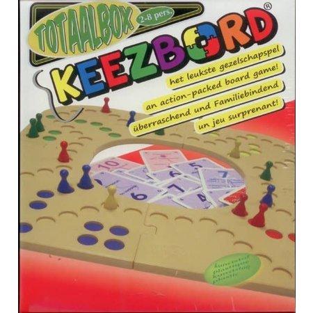 Westerkeez Totaalbox Keezbord (2-8 spelers) kunststof