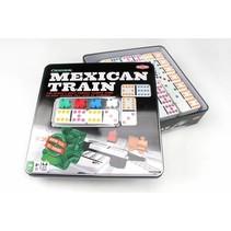 Mexican Train in blik