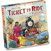 Ticket to Ride: India/Zwitserland uitbreiding
