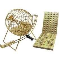 Lottomolen/Kienmolen 90 ballen 24/18cm metaal