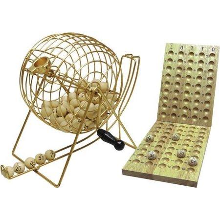 HOT games Lottomolen/Kienmolen 90 ballen 24/18cm metaal