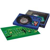 Roulette Set Bakkel/metaal compl.12in/30cm