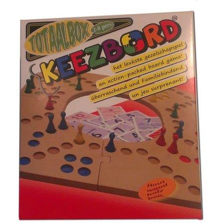 Westerkeez Totaalbox Keezbord (2-8 spelers) hout