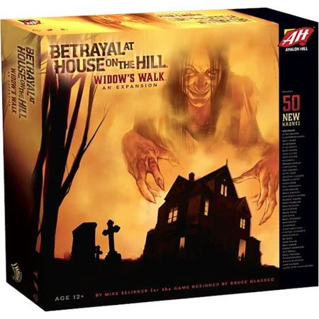 Avalon Hill Betrayal at House on the Hill: Widow`s Walk (Eng) - Uitbreiding