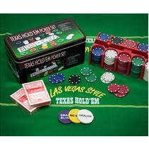 Pro Poker Texas Hold Em Poker Set