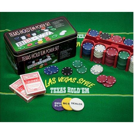 Tactic Pro Poker Texas Hold Em Poker Set