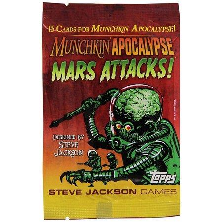 Steve Jackson Games Munchkin - Apocalypse: Mars Attacks!