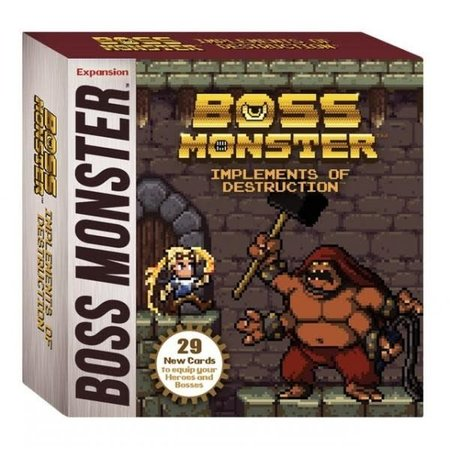 Brotherwise Games Boss Monster: Implements of Destruction (Eng)  - Uitbreiding