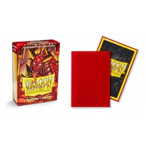 Dragon Shield Sleeves: Crimson Matte