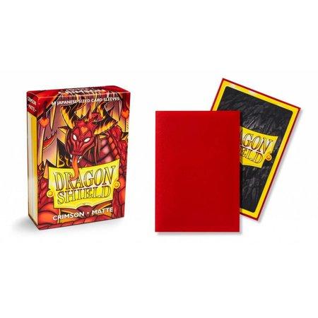 Arcane Tinman Dragon Shield Sleeves: Crimson Matte