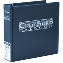 BINDER Blue Genereic C12 Collectors Card Album Dark blue