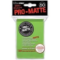 Sleeves Pro-Matte - Lime Green