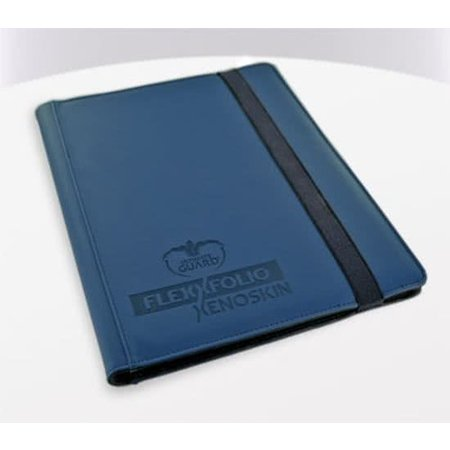 Ultimate Guard Ultimate Guard 9-Pocket FlexXfolio Xenoskin Blue