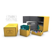 Ultimate Guard Twin Flip'n'Tray Deck Case Xenoskin 160+ Amber
