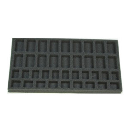 Battlefoam Flames of War 18 Troop 20 HQ Foam Tray