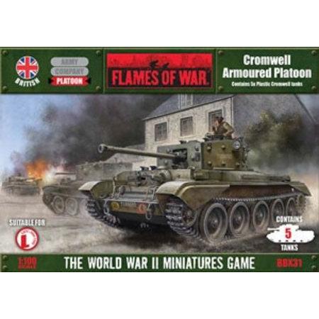 Battlefront Cromwell Armoured Platoon (plastic)