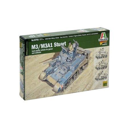 Italeri Bolt Action: M3/M3A1 Stuart (plastic)