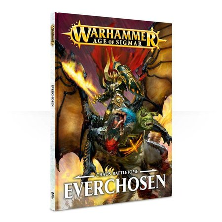 Games Workshop Age of Sigmar 2nd Edition Rulebook Chaos Battletome: Everchosen (HC)