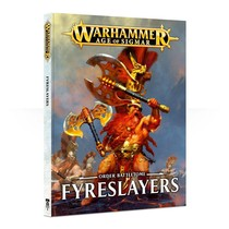 Age of Sigmar 2nd Edition Rulebook Order Battletome: Fyreslayers (HC)