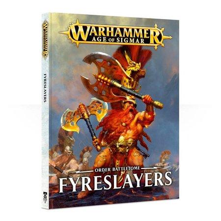 Games Workshop Age of Sigmar 2nd Edition Rulebook Order Battletome: Fyreslayers (HC)
