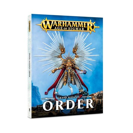 Games Workshop Age of Sigmar 2nd Edition Rulebook: Grand Alliance - Order (SC)