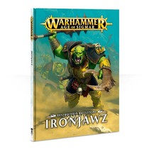 Age of Sigmar 2nd Edition Rulebook Destruction Battletome: Ironjawz (HC)