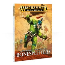 Age of Sigmar 2nd Edition Rulebook Destruction Battletome: Bonesplitterz (SC)