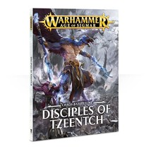 Age of Sigmar 2nd Edition Rulebook Chaos Battletome: Disciples of Tzeentch (SC)