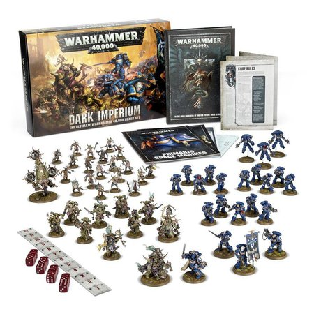 Games Workshop Warhammer 40,000 8th Edition Starter Set: Dark Imperium