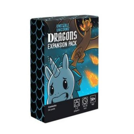 breaking games Unstable Unicorns: Dragons Expansion (Eng)
