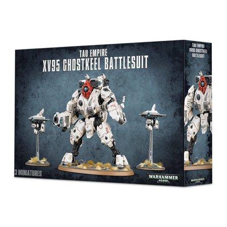 Games Workshop Warhammer 40,000 Xenos T'au Empire: XV95 Ghostkeel Battlesuit