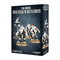 T'au Empire: XV25 Stealth Battlesuits