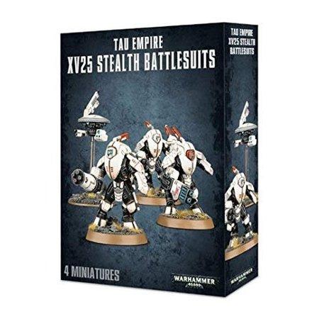 Games Workshop Warhammer 40,000 Xenos T'au Empire: XV25 Stealth Battlesuits