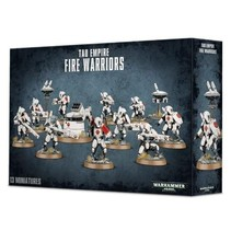Warhammer 40,000 Xenos T'au Empire: Fire Warriors Breacher Team/Strike Team