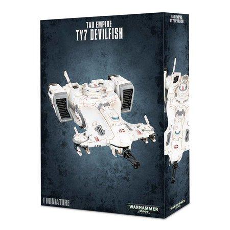 Games Workshop Warhammer 40,000 Xenos T'au Empire: TY7 Devilfish APC
