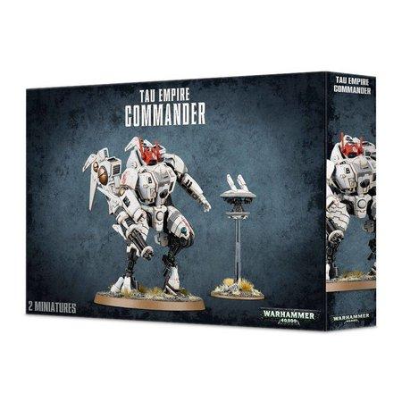 Games Workshop Warhammer 40,000 Xenos T'au Empire: XV85 Enforcer/XV86 Coldstar Commander Battlesuit