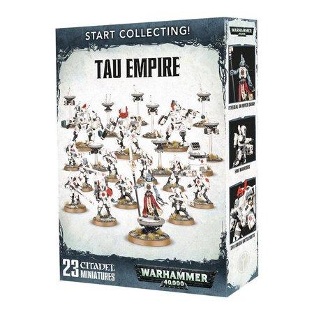 Games Workshop Warhammer 40,000 Xenos T'au Empire Start Collecting Set