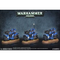 Warhammer 40,000 Imperium Adeptus Astartes Space Marines: Bike Squad
