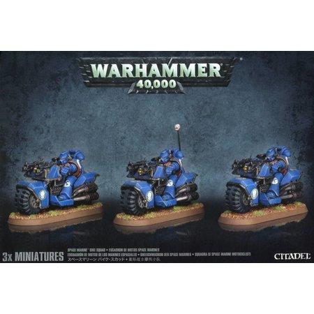 Games Workshop Warhammer 40,000 Imperium Adeptus Astartes Space Marines: Bike Squad