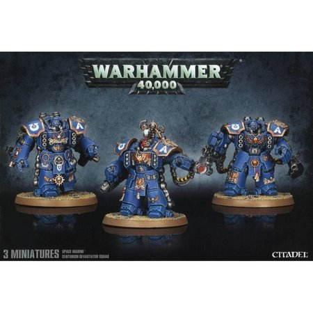 Games Workshop Warhammer 40,000 Imperium Adeptus Astartes Space Marines: Centurion Devastator Squad
