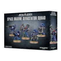 Warhammer 40,000 Imperium Adeptus Astartes Space Marines: Space Marine Devastator Squad